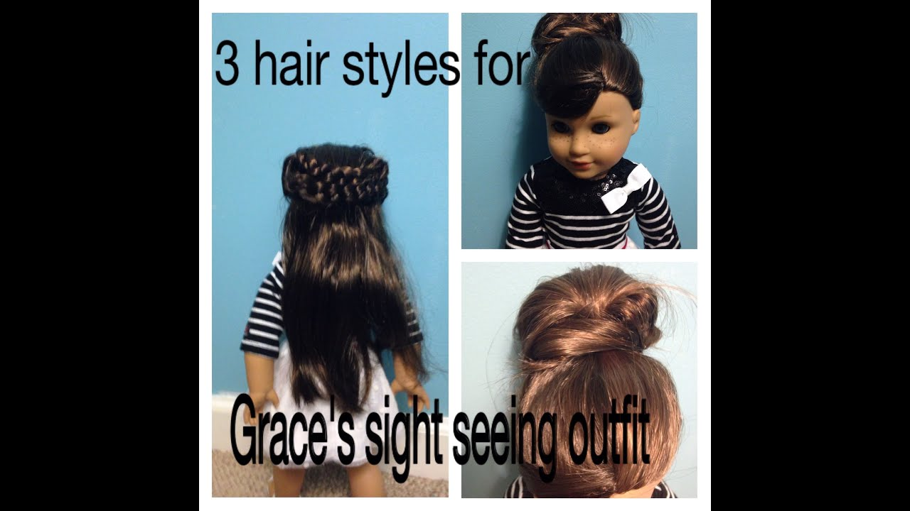 American Girl Doll Hairstyles Hairstyles For Graces - Doll hairstyles for grace