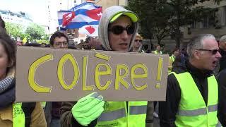 Gilets jaunes Acte 24 : manifestation contre les médias 27 avril 2019, Paris