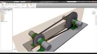 Autodesk Inventor - V Belts