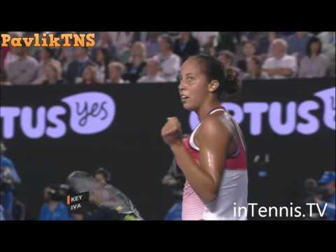 Madison Keys vs Ana Ivanovic Highlights ᴴᴰ Australian Open 2016