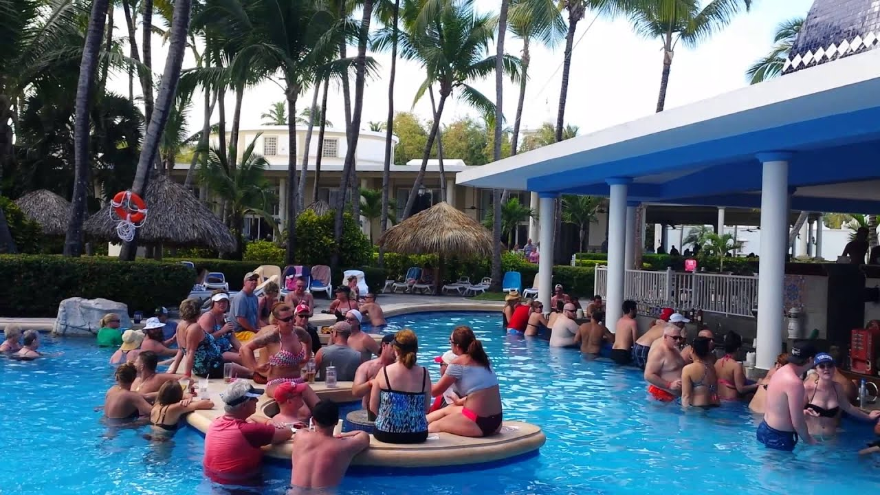 Party Piscina Piscina Party Hotel Riu Bambu 24 02 2016 Youtube