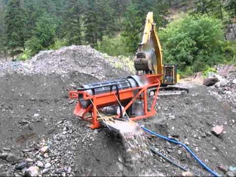 Mobile Placer Mining Equipment, Gold Trommels & Wash Plants
