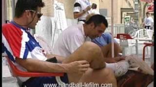 Equipe de France Handball - Jeux Olympiques 1992 - Barcelone (Espagne)