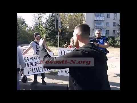 Новости-N: Водители ругаются с митингующими, перекрывшими Варваровский мост