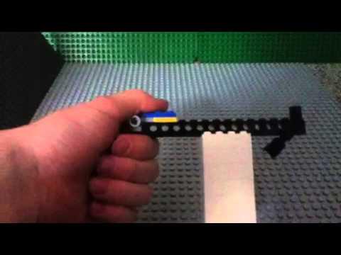 bauanleitung f r meine lego pistole youtube. Black Bedroom Furniture Sets. Home Design Ideas