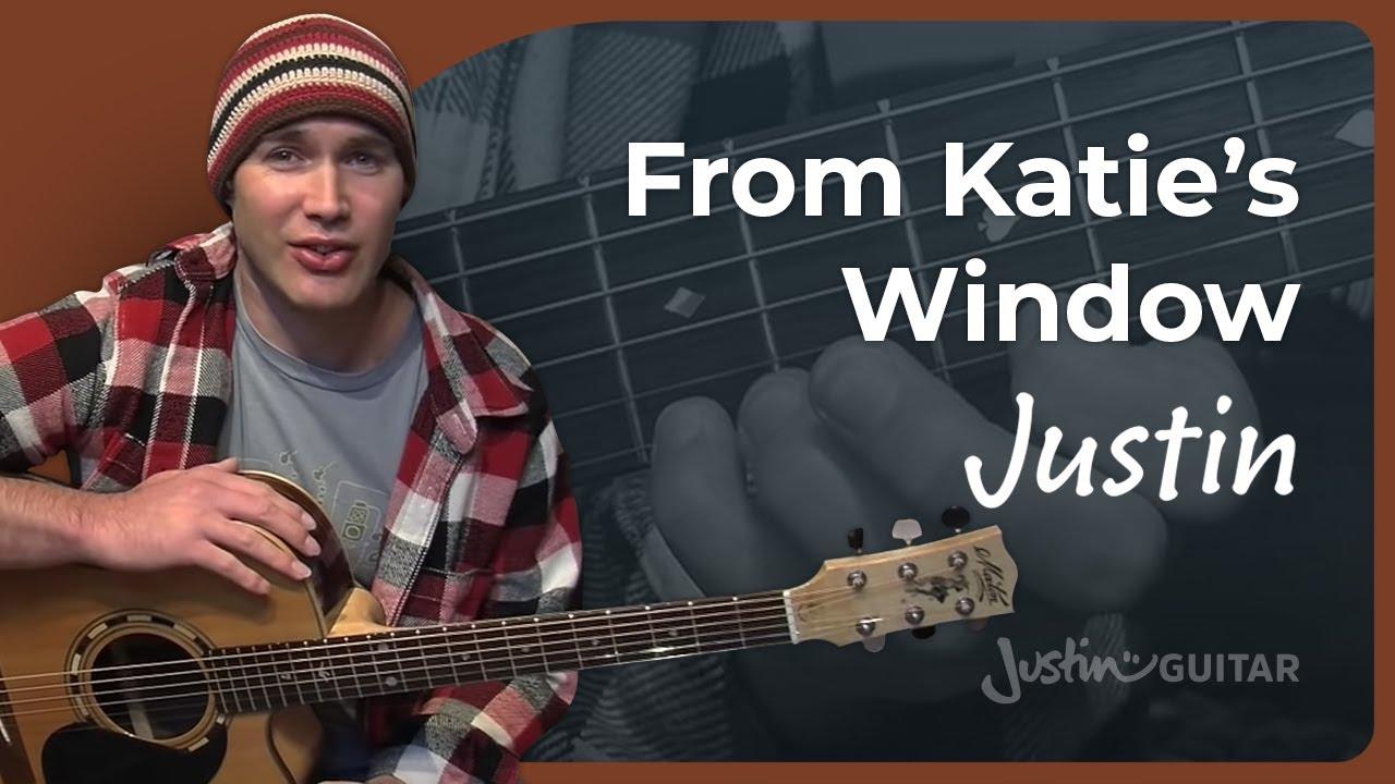 From Katie's Window - Justin Sandercoe #3of4 (Song ...