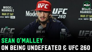 Sean O'Malley not worried about checking leg kicks: