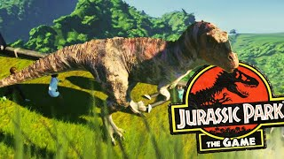 CARATOZAUR UCIEKA I ATAKUJE TURYSTÓW   Jurassic World Evolution [#2]