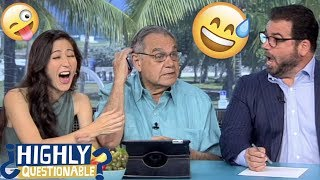 Mina Kimes' best bloopers & falling for Papi's fake-out | Highly Questionable