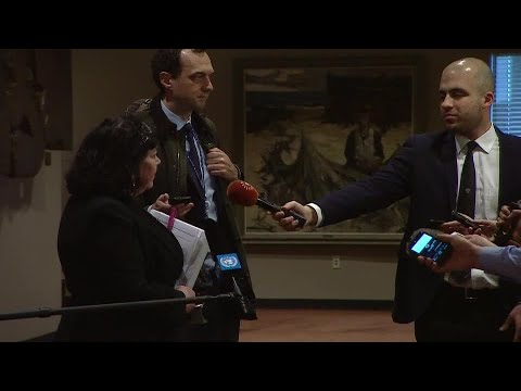 United Kingdom on the Security Council's trip to Sweden & other matters - Media Stakeout (25 Apr 18)