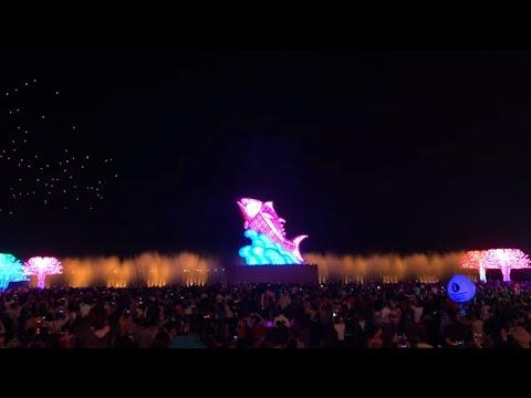 2019台灣燈會在屏東-主燈巨鮪來富試營運