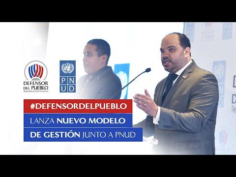 PRESENTACIÓN DEL NUEVO MODELO DE GESTIÓN DEL DEFENSOR DEL PUEBLO