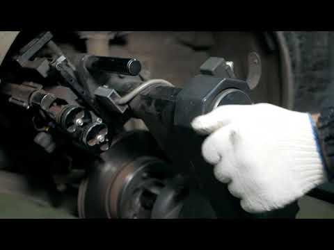 Проточка тормозных дисков без снятия с автомобиля профессиональным оборудованием PRO-CUT