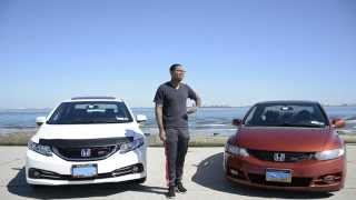8th Gen & 9th Gen Civic Si Comparison