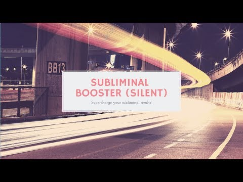 💨⏩Subliminal Booster! (Silent Version) Increase Results By A Million😱Increase Faith In Subliminals