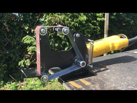 Drillpro Angle Grinder Belt Sander Attachment 115 125 Angle Grinder Review