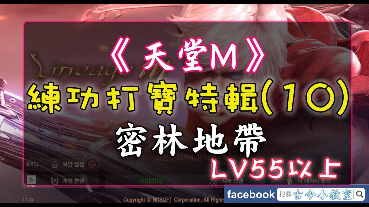 《天堂M》打寶練功特輯(10) 密林地帶 – LV55以上 - BlueStacks 模擬器 - YouTube