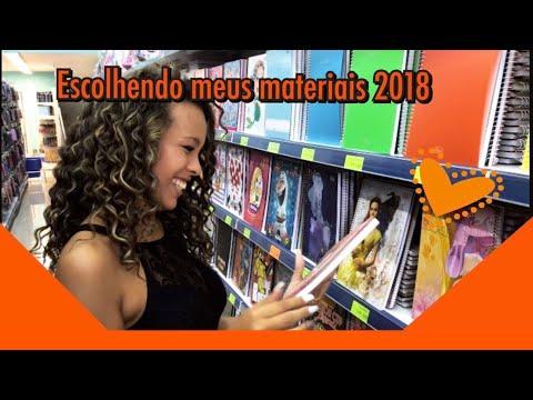 Escolhendo meus materiais escolares 2018 - Lepok | Julia Olliver