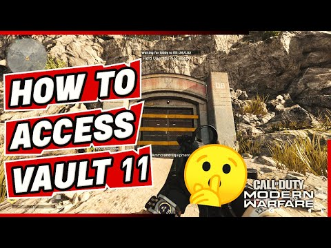 Warzone Easter Egg How To Access The Secret Bunker 11 Vault With The Nuke All Phone Locations Youtube