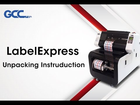 GCC---LabelExpress Unpacking