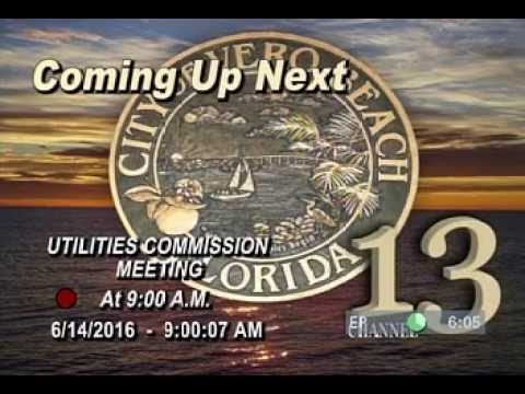 The City of Vero Beach Utilities Commission 6/14/2016