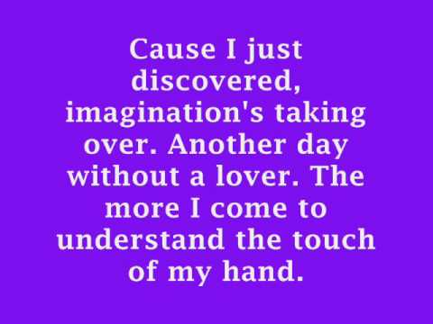 Britney Spears- Touch Of My Hand Lyrics