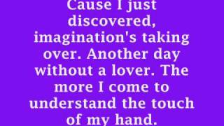 Britney Spears- Touch of my hand lyrics