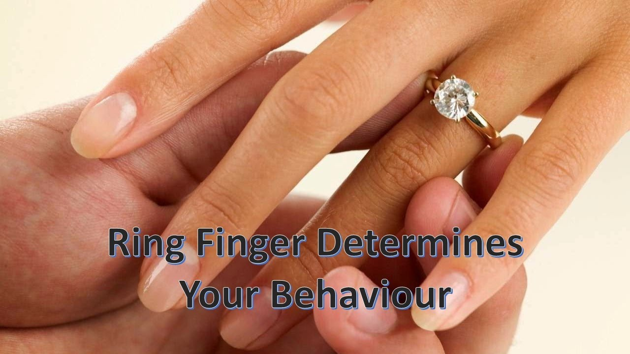 Ring Finger Determines Behaviour of a Lady - YouTube