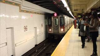 IRT 7th Avenue Express: 1999 Bombardier R-142 #6346 2 train recording!