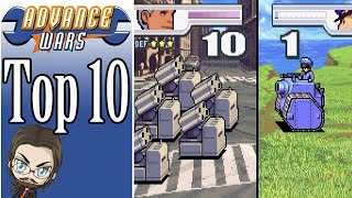 My Top 10 Favourite Advance Wars COs!