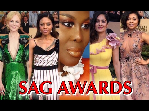 FUMI'S FASHION POLICE, THE SAG AWARDS, 2017 RED CARPET REVIEW