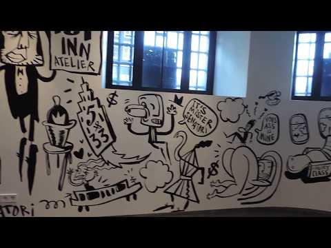 Art gallery modern art  amsterdam