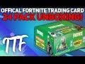 Unboxing 24 Packs of Fortnite Series 1 Trading Cards! (Fortnite Battle Royale)