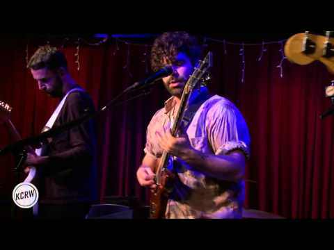 """Foals performing """"What Went Down"""" Live at KCRW's Apogee Sessions"""