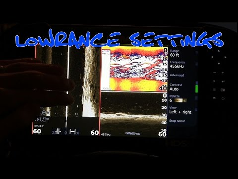 Lowrance HDS Gen 3 Settings Tutorial