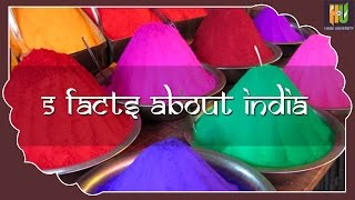 5  Interesting Facts About India