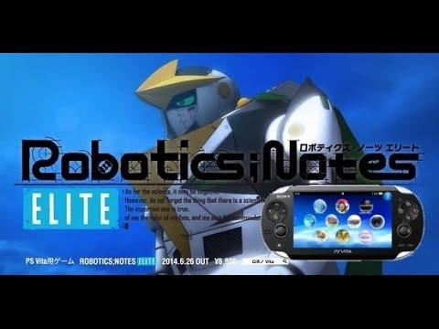 Robotic Notes Elite Ps Vita Trailer Youtube