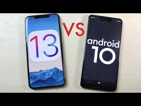 iOS 13 Vs Android 10! (Comparison)