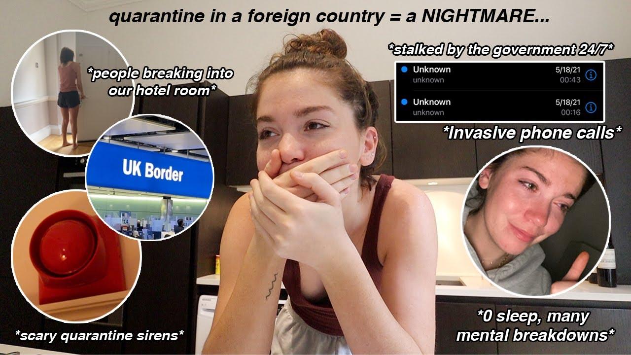 the *horrific* reality of my week quarantine in LONDON…