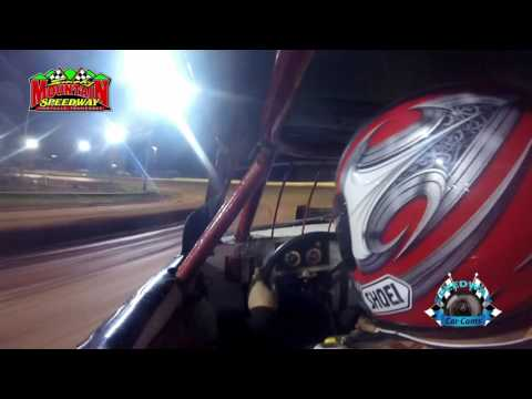 #99 Chad Mclemore - Street Stock - 5-13-17 Smoky Mountain Speedway - In-Car Camera