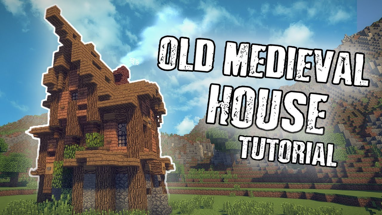 Old Medieval House Tutorial (MINECRAFT) - YouTube