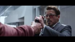 Captain America Civil War Winter Soldier fight scenes