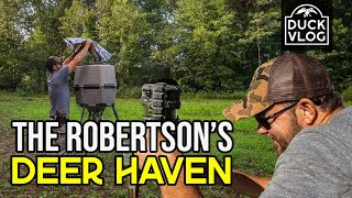 The Robertson's Private DEER HAVEN   Exclusive Tour with Jay Stone   Duck Vlog - Episode 3