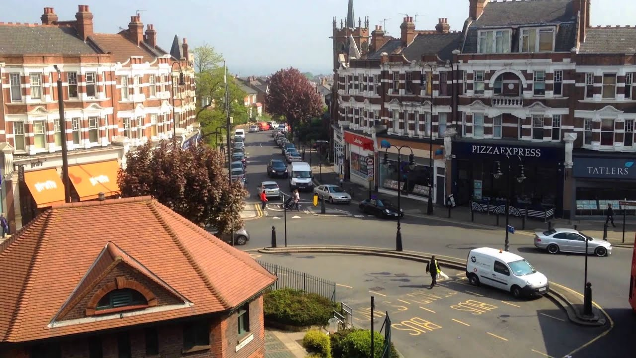 Muswell Hill Broadway From Above