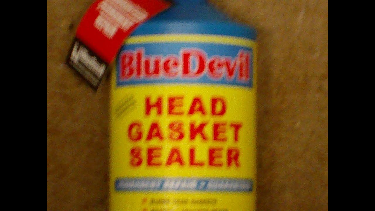 Blue Devil Head Gasket Sealer Youtube