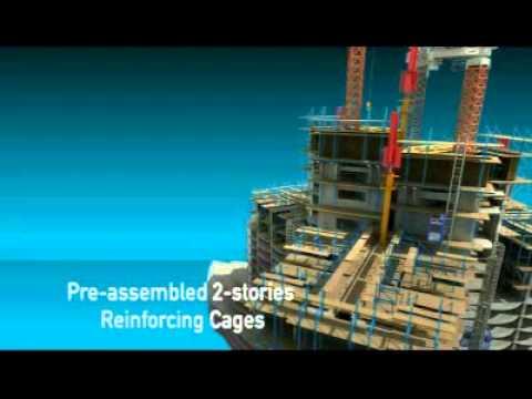 삼성 두바이 타워 영상 - YouTube