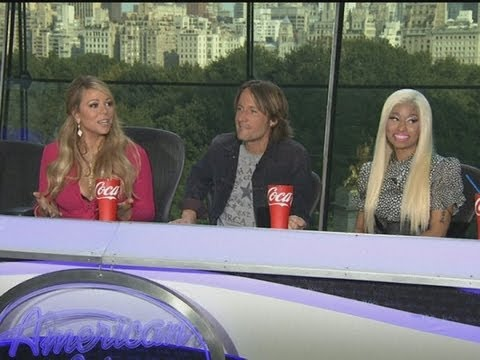 American Idol: New Judges Nicki Minaj, Keith Urban And Mariah Carey Step Out For The First Time