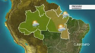 Previsão Norte – Calor e excesso de umidade