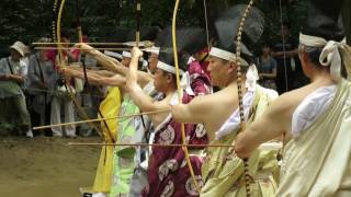 Japanese Archery (Kyudo) at Kashima Jingu – 小笠原流百々手式|鹿嶋神宮