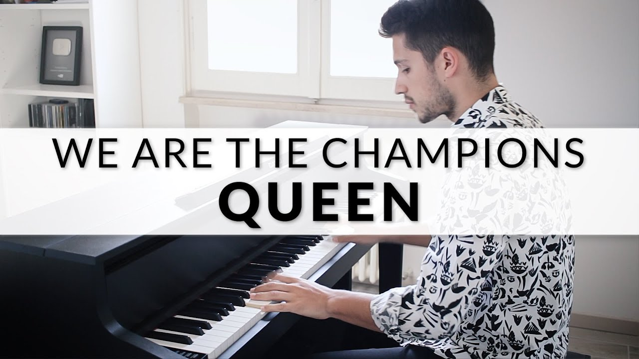 Queen - We Are The Champions | Piano Cover